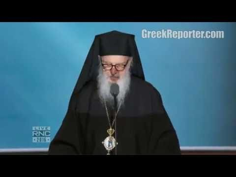 Archbishop Demetrios Offers Prayer at Republican National Convention 2016