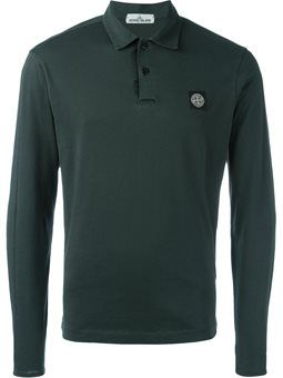 long sleeve polo shirt Stone Island