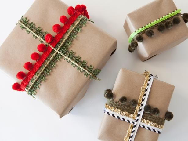 How to Wrap a Gift Using Ribbons and Trim