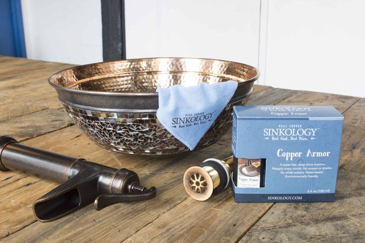 you need for a beautiful and coordinated copper sink installation