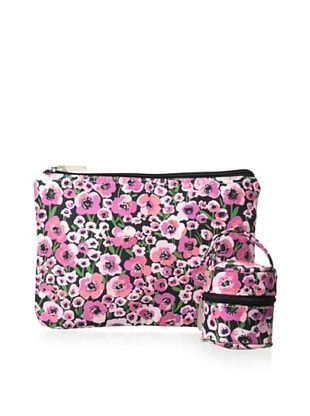 53% OFF The Bumble Collection Pacificer Pod & Zipper Bag, Peony Paradise