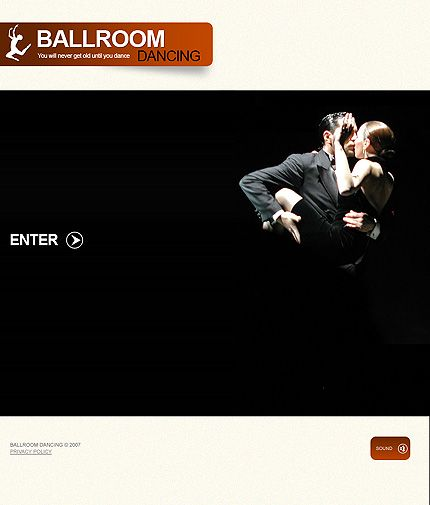 Ballroom Dancing Flash Templates by Di