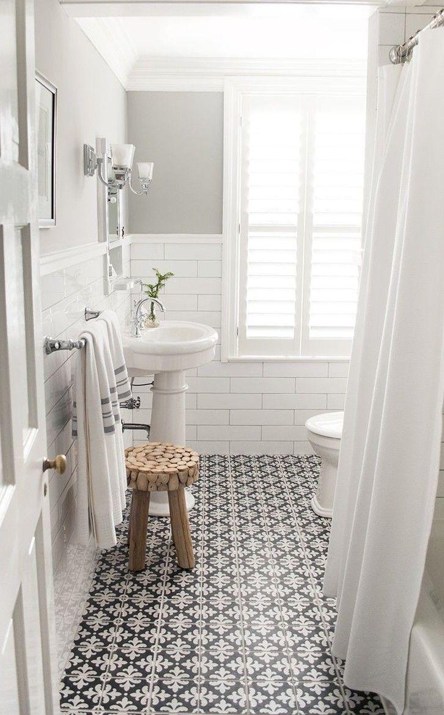 17 mejores ideas sobre ba o con estilo de mono en - Como colocar azulejos en el bano ...