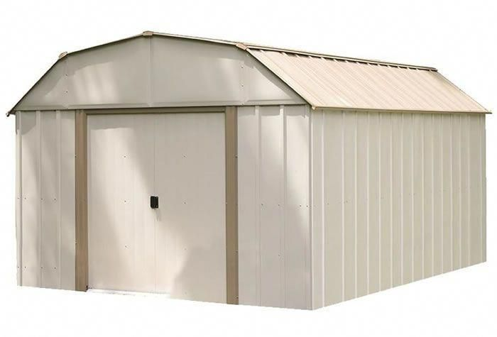 Lexington 10x8 Arrow Metal Storage Shed Kit Buildashedkit Shedkits Steel Storage Sheds Shed Storage Storage Shed Kits
