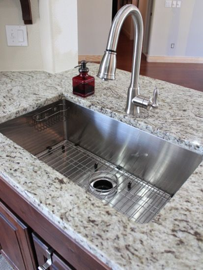 117 best Kitchen Sink images on Pinterest | Bathrooms, Bathroom and Kitchen Undermount Sink Ideas Html on granite kitchen sink ideas, solid surface kitchen sink ideas, bathroom accessories ideas, undermount kitchen sink brands, bathroom furniture ideas, white kitchen sink ideas, bathroom vanity ideas, contemporary bathroom ideas, shower ideas, bathroom set ideas, freestanding kitchen sink ideas, home ideas, bathroom lighting ideas, stainless kitchen sink ideas, bathroom makeover ideas, farmhouse kitchen sink ideas, undermount kitchen sink support, corner kitchen sink ideas,