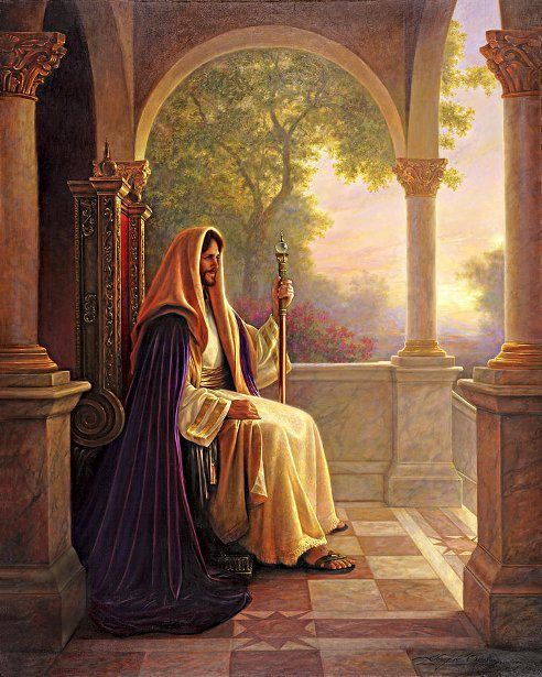 King Of Kings -- by Greg Olsen (1958)