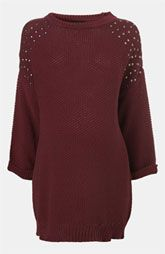 Topshop Maternity Grunge Studded Sweater