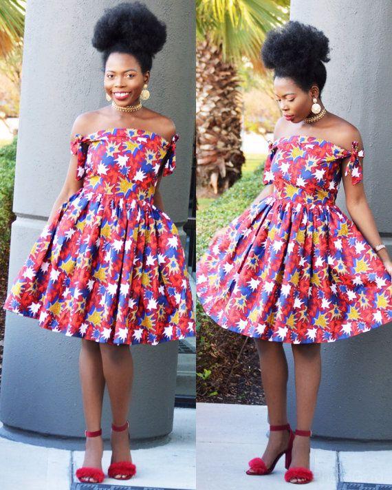 Ankara-Kleid | afrikanischen print, afrikanische Rock, afrikanische Kleidung, afrikanische Shop, Ankara Kleid, afrikanischen drucken Maxi Kleid