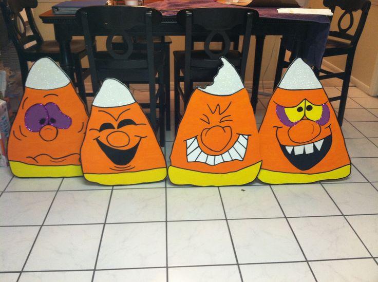 Halloween yard Art