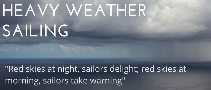 Heavy weather sailing guide for the Santa Barbara Channel. Best weather resources, common local weather patterns and top 5 rules for heavy weather sailing.