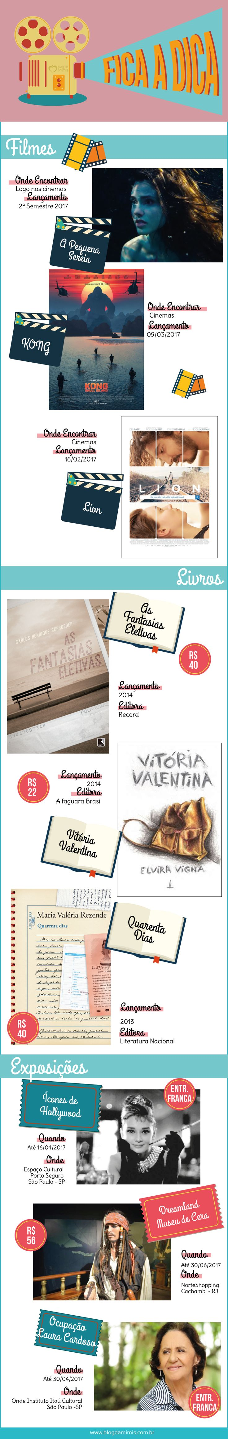 Fica a Dica: lançamentos de filmes, livros nacionais e exposições - Blog da Mimis #book #exposição #film #cinema