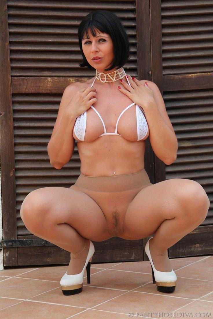 Tan Pantyhose All 91