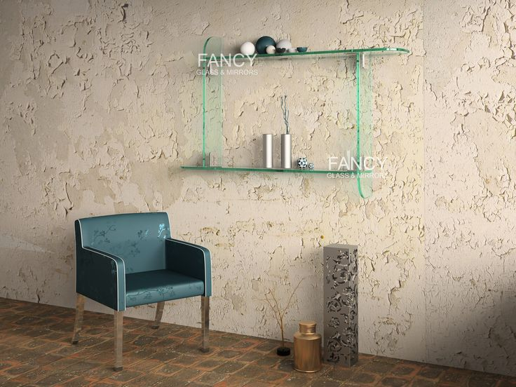 This Atlanta wall-mounted glass shelves are designed for a modern style home interior. They will seamlessly blend into your environment, creating a light and airy feel in any room they inhabit. The way they reinforce the brightness in crisp, white spaces make them the perfect addition to your home.