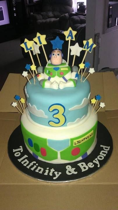 Buzz Lightyear themed cake