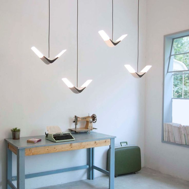 flight pendent with seagulls shape  image © xcellent lighting