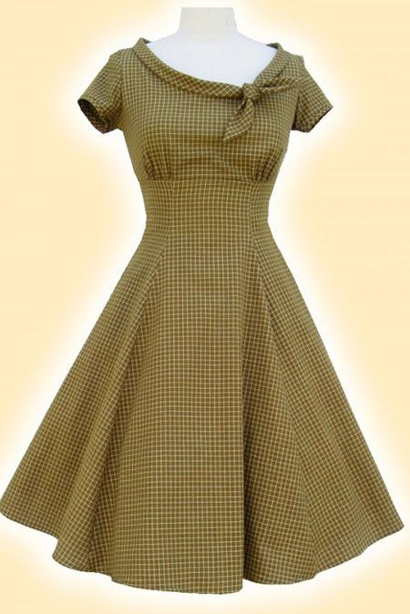 LOVE the retro! LOL, but I would use another fabric, Maybe a little black dress to wear with my pearls. :)