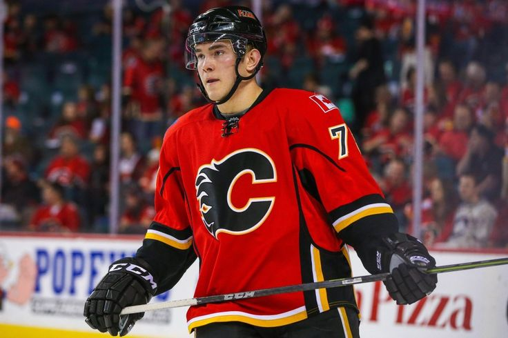 Michael Ferland Lighting Physical Fire For Calgary Flames - http://thehockeywriters.com/michael-ferland-lighting-physical-fire-for-calgary-flames/