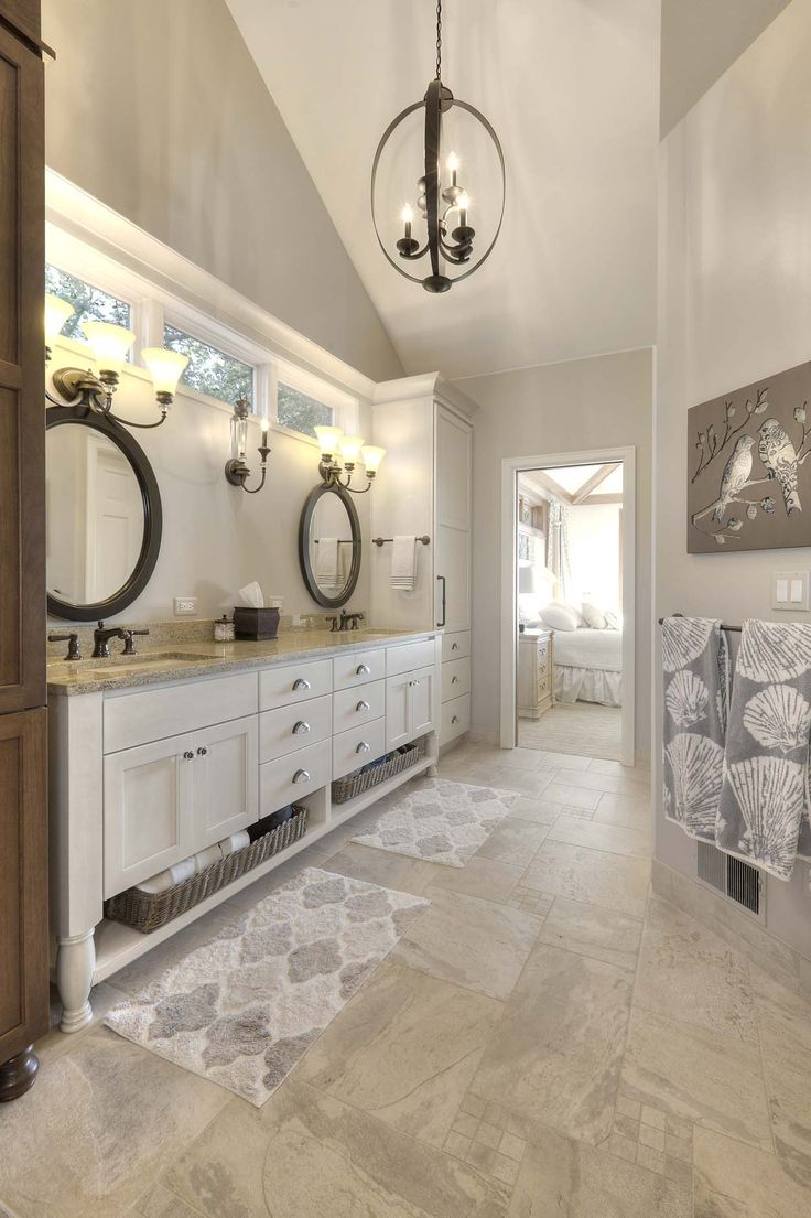 a bathroom remodel in traverse city michigan created a