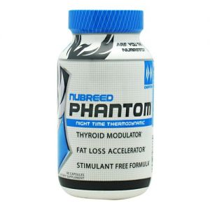 Nubreed Nutrition Phantom, 90 Capsules. DESCRIPTION SUPPLEMENT FACTS DIRECTIONS Night Time Thermodynamic. Thyroid Modulator. Fat Loss Accelerator. Stimulant Free Formula. Serving Size 3 CapsulesServings Per Container 30 Amount Per Serving Serving % DV Phantom Complex (Proprietary Blend) 2 g - Proprietary Blends Phantom Complex (Proprietary Blend) Propionyl L-Carnitine, (ALA) Alpha Lipoic …