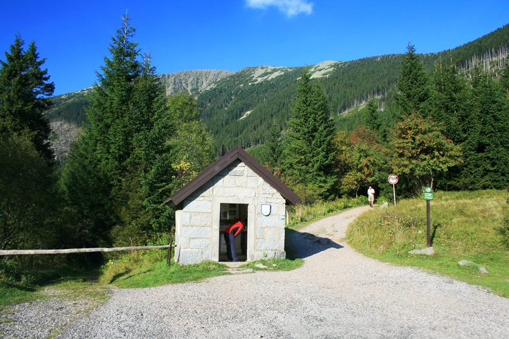 Důl kovárna near mountain Snezka
