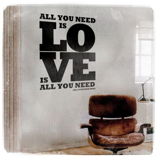 Wall stickers : All you need is love