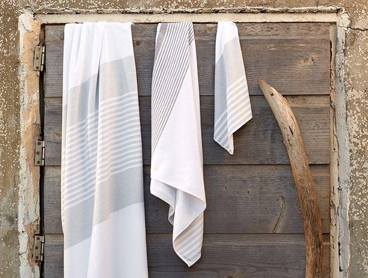 Sutro Stripe Towels - Sale   Coyuchi