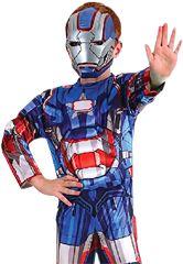 Boys Patriot Iron Man Costume