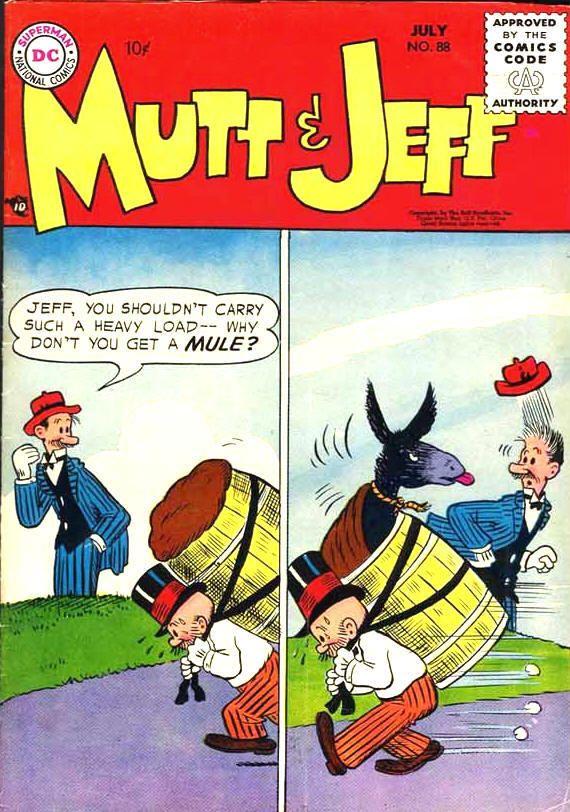 Comic mutts strip