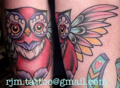 Cutie patootie owl tattoos! i-want