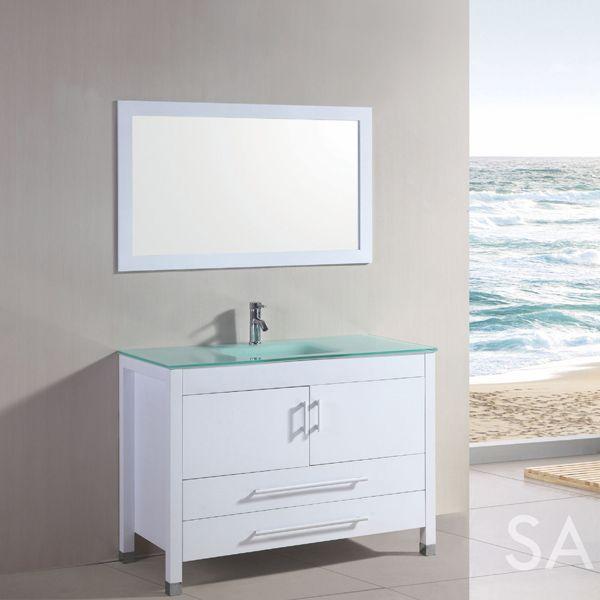 Photo On Santorini Bathroom Vanity Set Tubs u More carries freestanding tubs faucets vanities u more Come to our showroom in Weston Fl