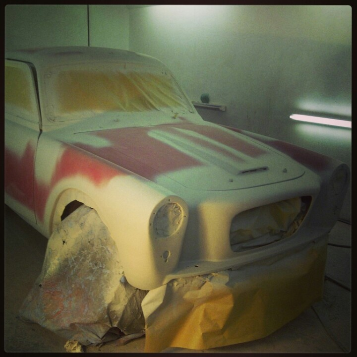 GT ready for paint