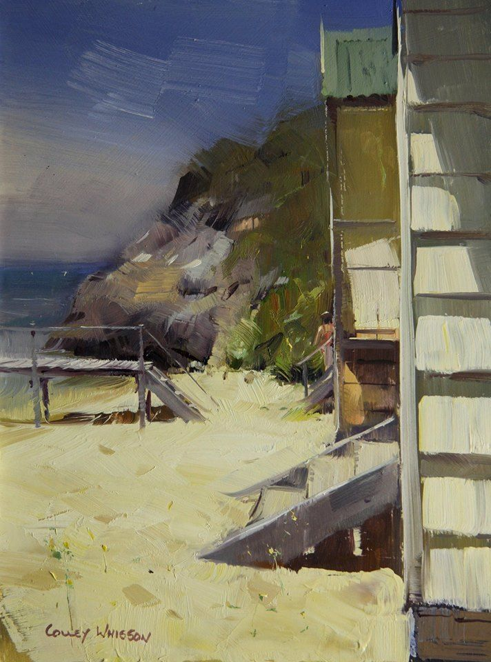 Colley Whisson  Afternoon Magic, Australia, Oil 16 x 8