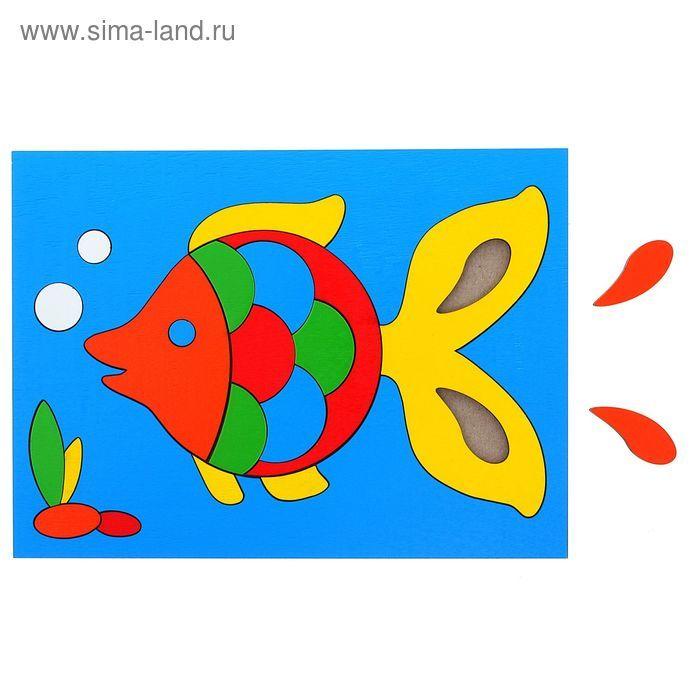 """Головоломка """"Собери картинку: рыбка """", 22 элемента"""