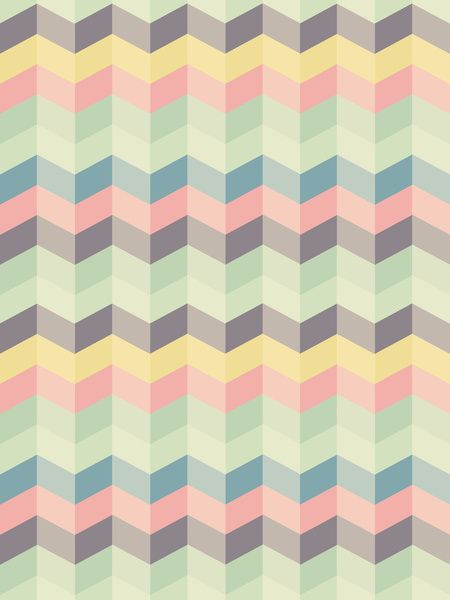 3D chevron pattern