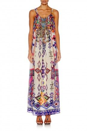 MOTHER KNOWS BEST DRAWSTRING DRESS $599