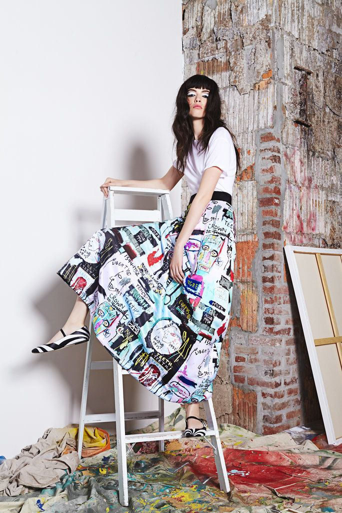 Why Weu0027re In Love With This Basquiat Inspired Fashion Collection