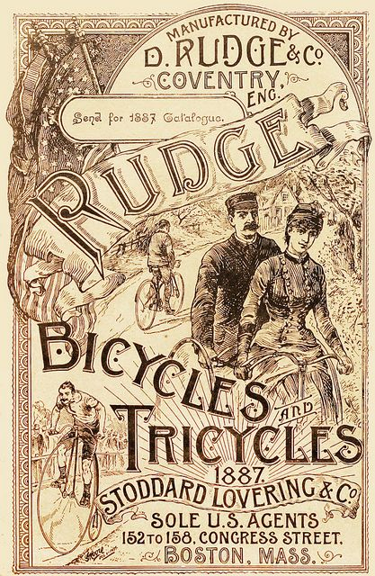 D. Rudge & Co. Coventry. Eng Rudge Bicycles Tricycles_1887