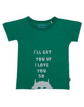 IMPS & ELFS Boys 'I'll Eat You Up I Love You So' T-Shirt. Shop here: http://www.tilltwelve.com/en/eur/product/1065404/IMPS-ELFS-Boys-I%E2%80%99ll-Eat-You-Up-I-Love-You-So-T-Shirt/