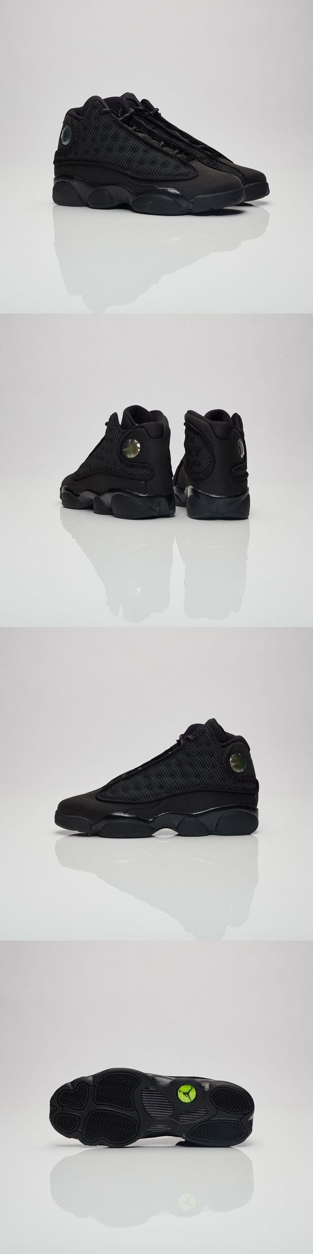 Boys Shoes 57929: Air Jordan Retro 13 Gs Black Cat 884129-011 Size 4-7Y 100% Authentic New Black -> BUY IT NOW ONLY: $129.99 on eBay!
