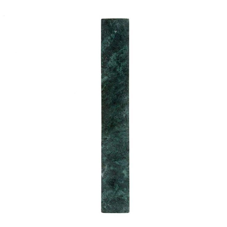 Porte-encens En Marbre Vert – Taille : Taille Unique