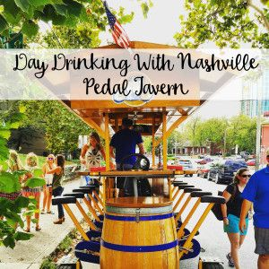 The Wandering Weekenders- Day Drinking With Nashville Pedal Tavern