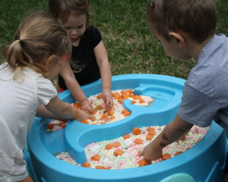 Marshmallow Sensory Play | Fantastic Fun & Learning