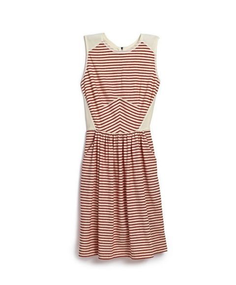 Here are the 10 most flattering summer dresses for your #LaborDay party: This red-striped dress is the perfect touch of patriotism while the flare look will flatter your shape long after summer.  Red and White Dress, $59.99; available in Marshalls stores