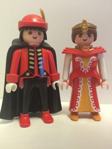 Playmobil Princess Castle Queen King Prince Figures Lot B