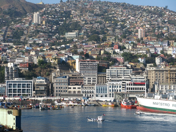 Valparaiso, Chile, by RT