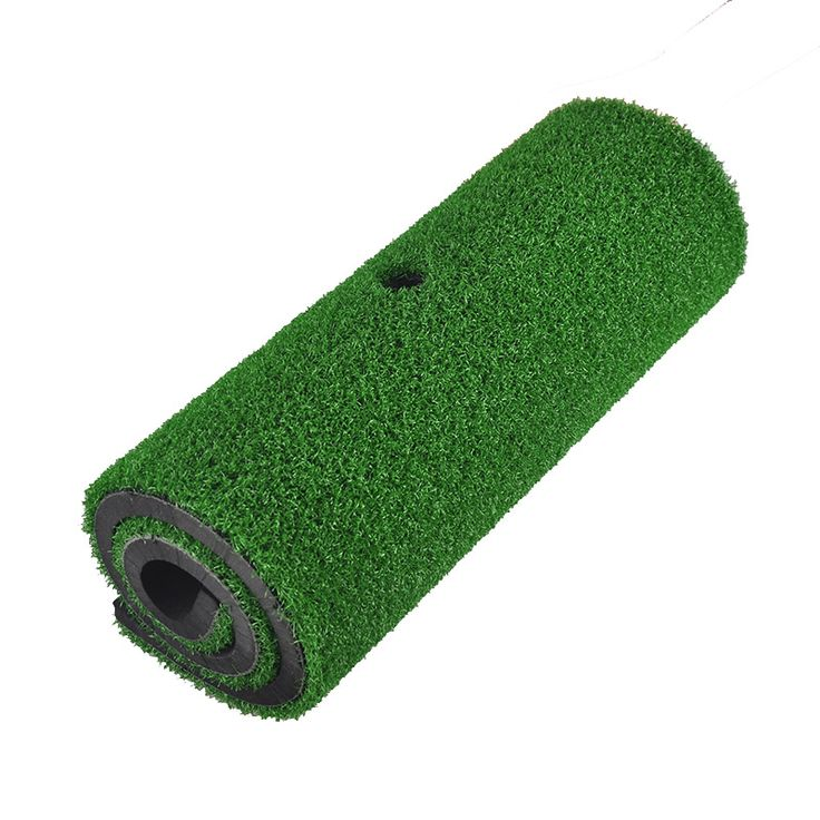 PGM Brand Indoor Backyard Golf Mat Training Hitting Pad Practice Rubber Tee Holder Grass Mat Grassroots Green 60cm x 30cm