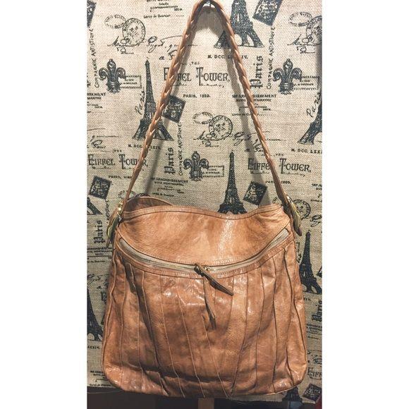 SPRING SALE Treesje Leather Tan Bag Great condition! Treesje Bags Shoulder Bags