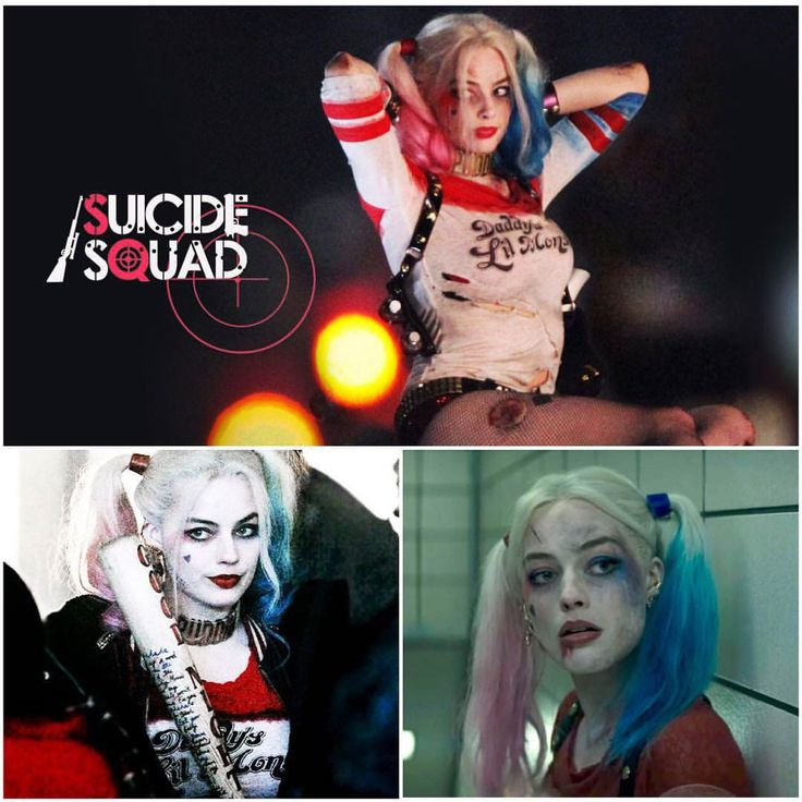 Margot Robbie as Harley Quinn Suicide Squad-9