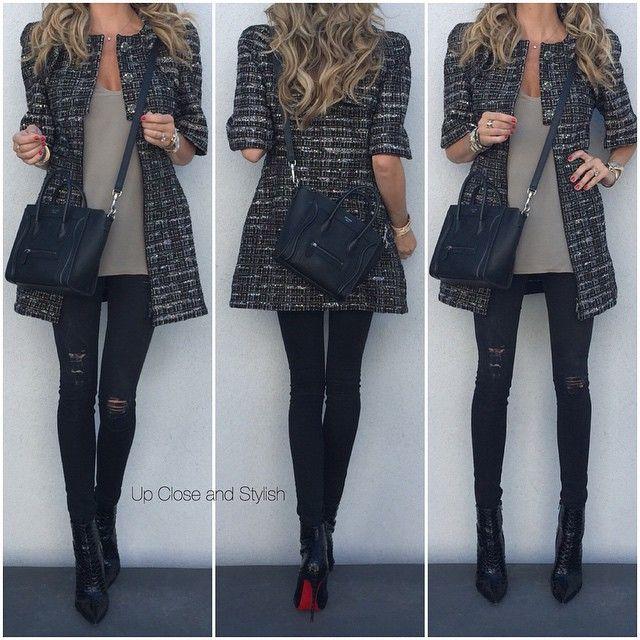 Up Close and Stylish @upcloseandstylish #Chanel dress (wo...Instagram photo   Websta (Webstagram)