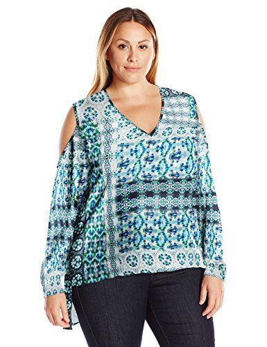 Single Dress Women's Plus Size Adele Cold Shoulder Top, H-$117.00